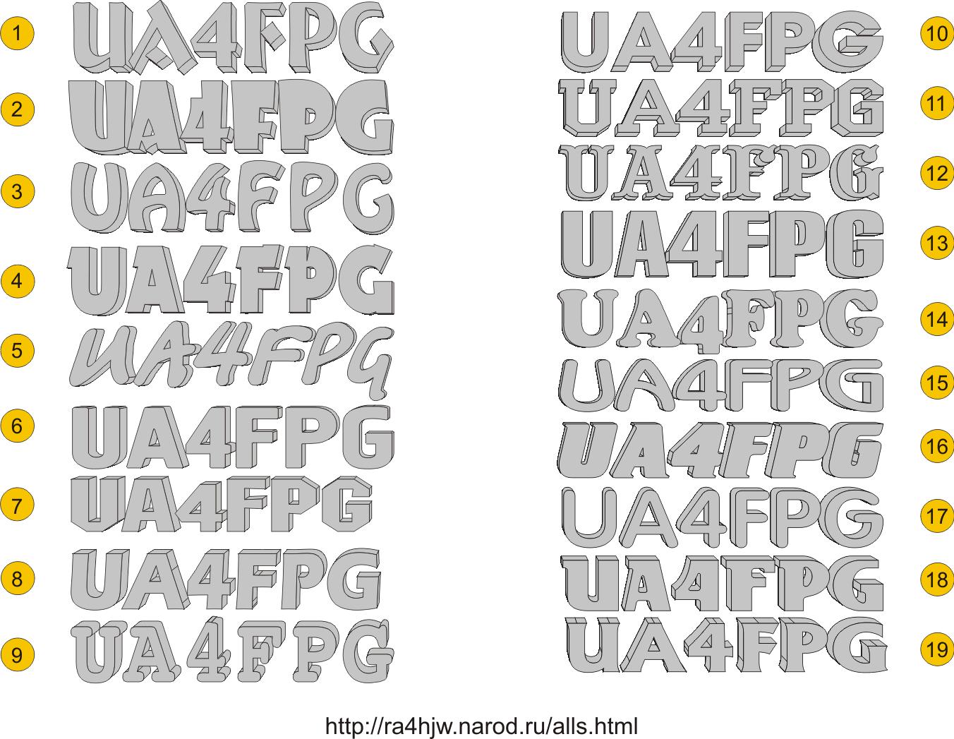 Как сделать необычный шрифт в презентации